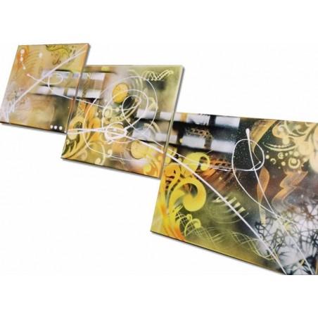 Tableau abstrait andréa