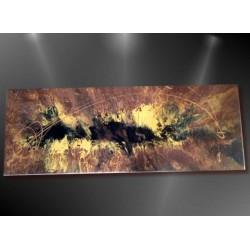 Tableau abstrait peinture fluide