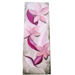 Tableau douces fleurs