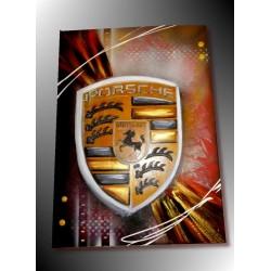 tableau logo Porsche