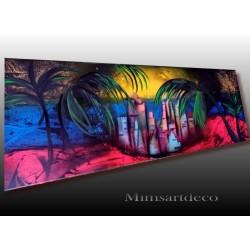 tableau abstrait colombia