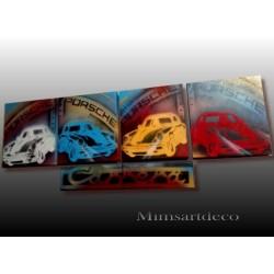 Peinture sur toile Porsche