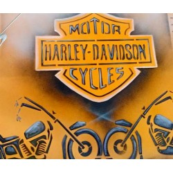 peinture abstraite Harley