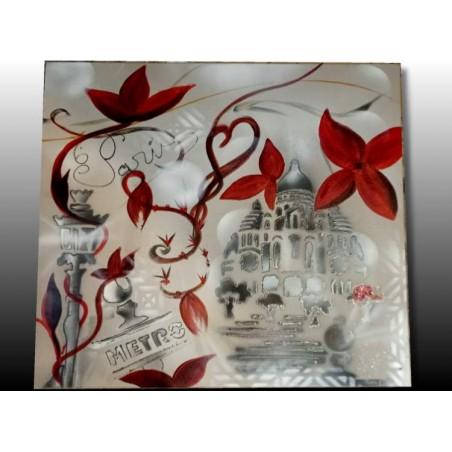 Tableau peinture Paris