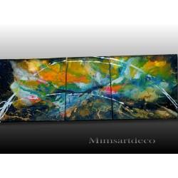 tableau abstrait street art