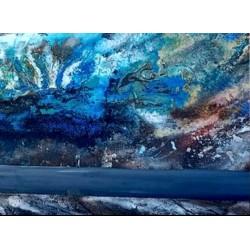 tableau abstrait, peinture sur toile