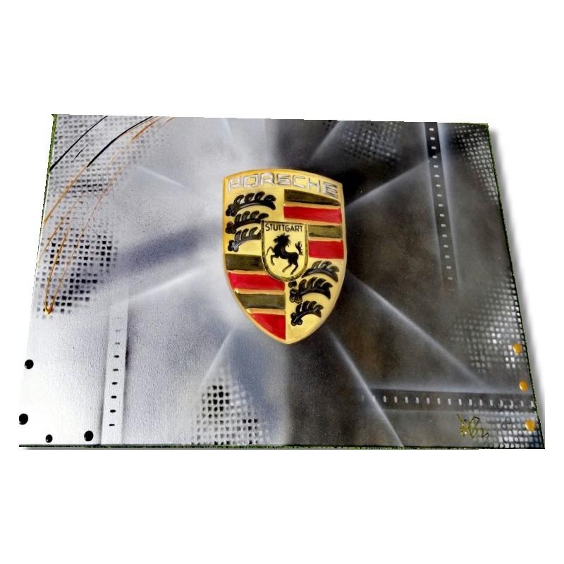 Tableau Porsche logo