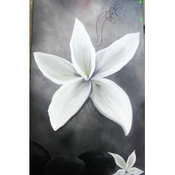 Tableau lys blanc xxl