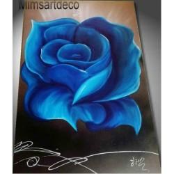 Tableau rose bleu xxl