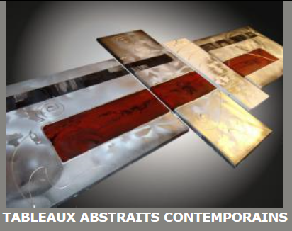 Tableaux abstrait contemporain