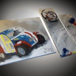 Tableaux 2cv cross
